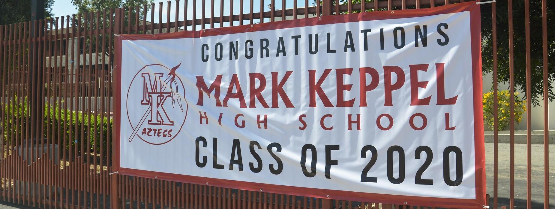 MKHS Class of 2020 Banner