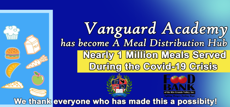 Vanguard Academy has Served nearly 1 Million Meals to Children in the Community! Featured Photo