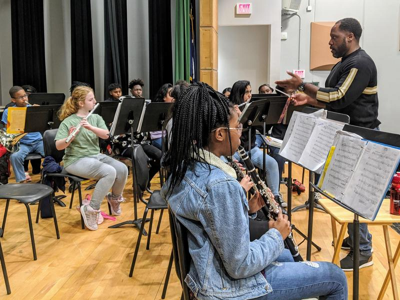 JCSD Bands Host Concert Performance Assessment Clinic Day Featured Photo