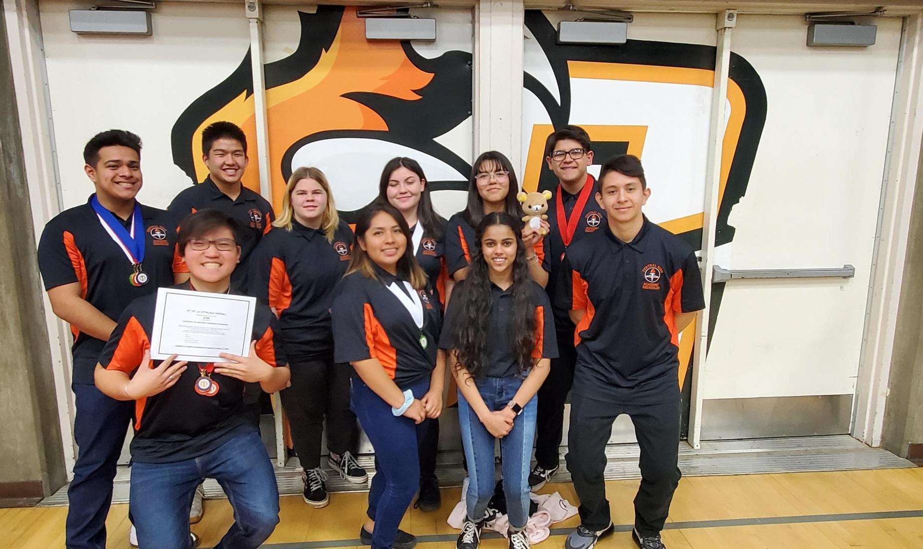 Central High School Academic Decathlon Team