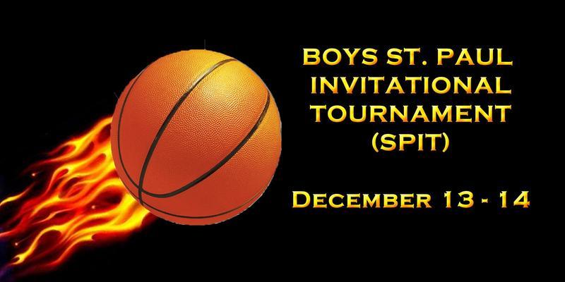 Boys Basketball St. Paul Invitational Tournament Dec. 13-14 Thumbnail Image