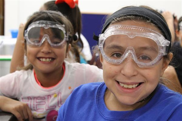 DWE third-graders make Gak