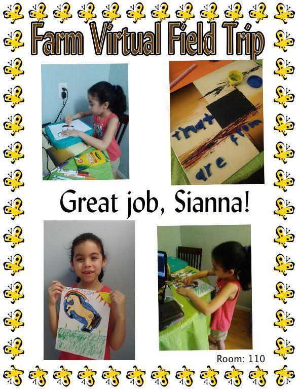 Farm Sanctuary Virtual Field Trip, Ms. Michael, Kindergarten, Room 110