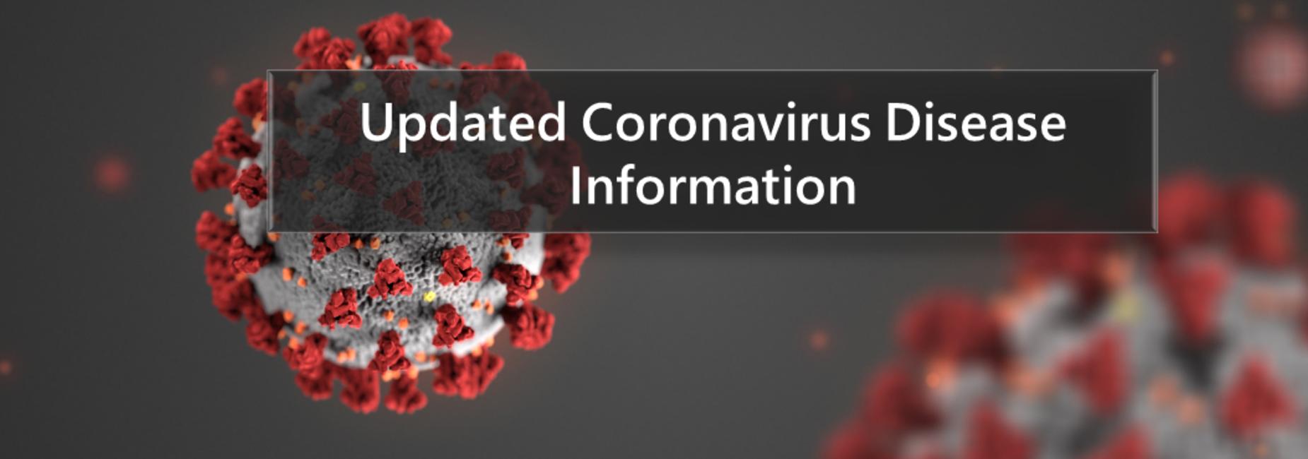 COVID-19 INFORMAITON