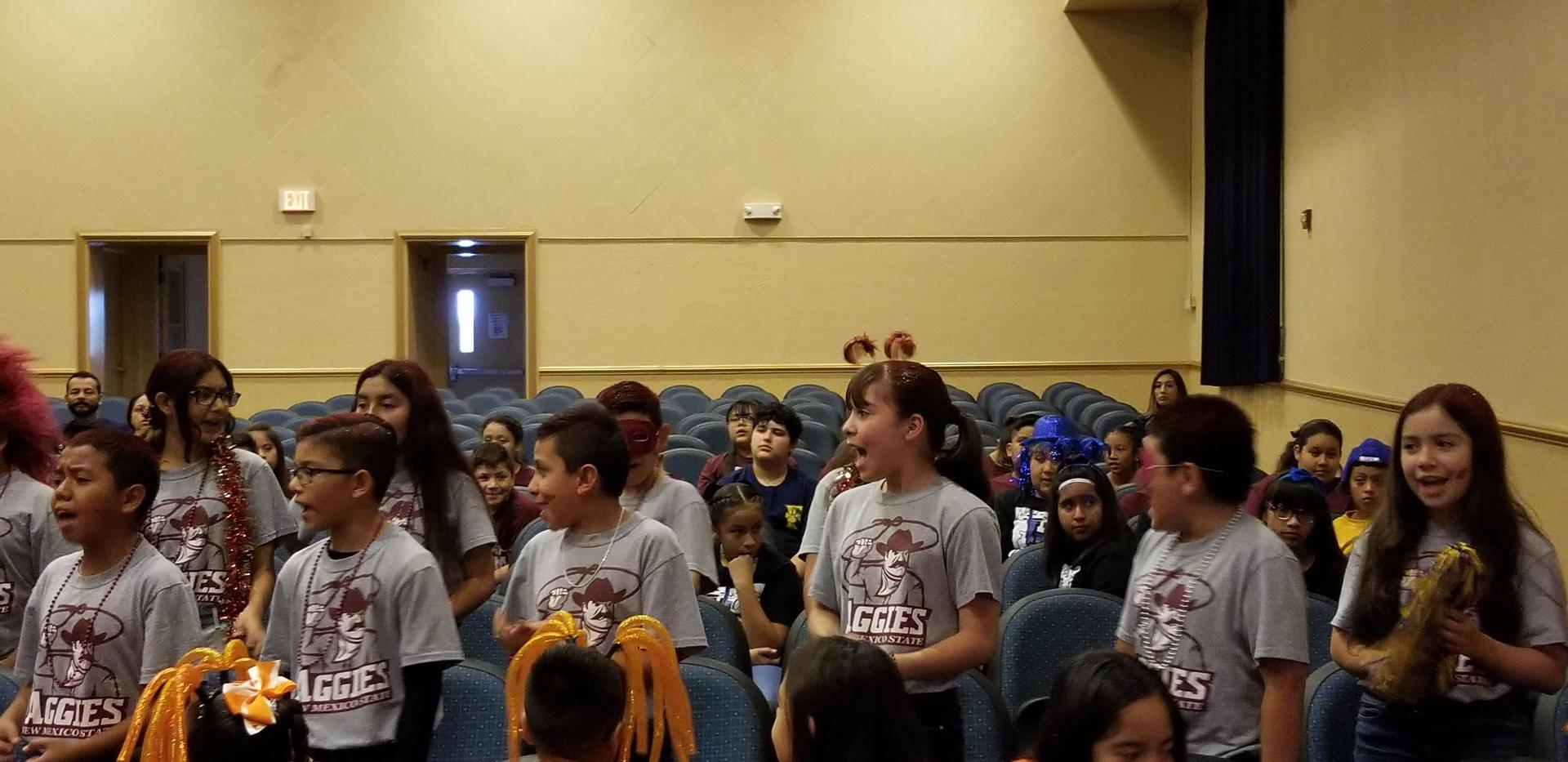 5th Grade Featured College - NMSU