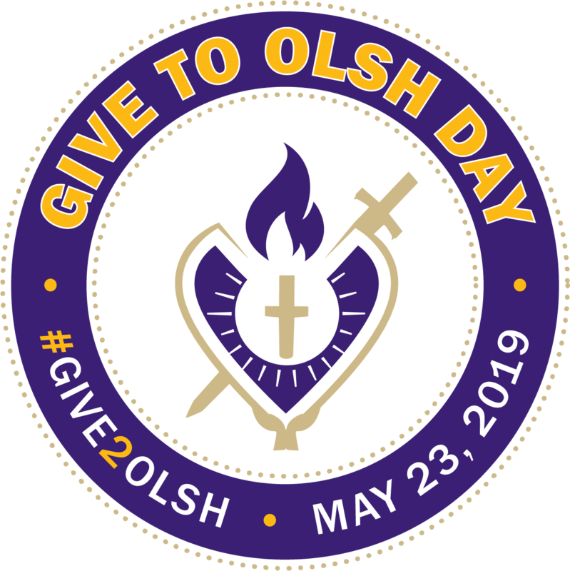 image of give to olsh day logo