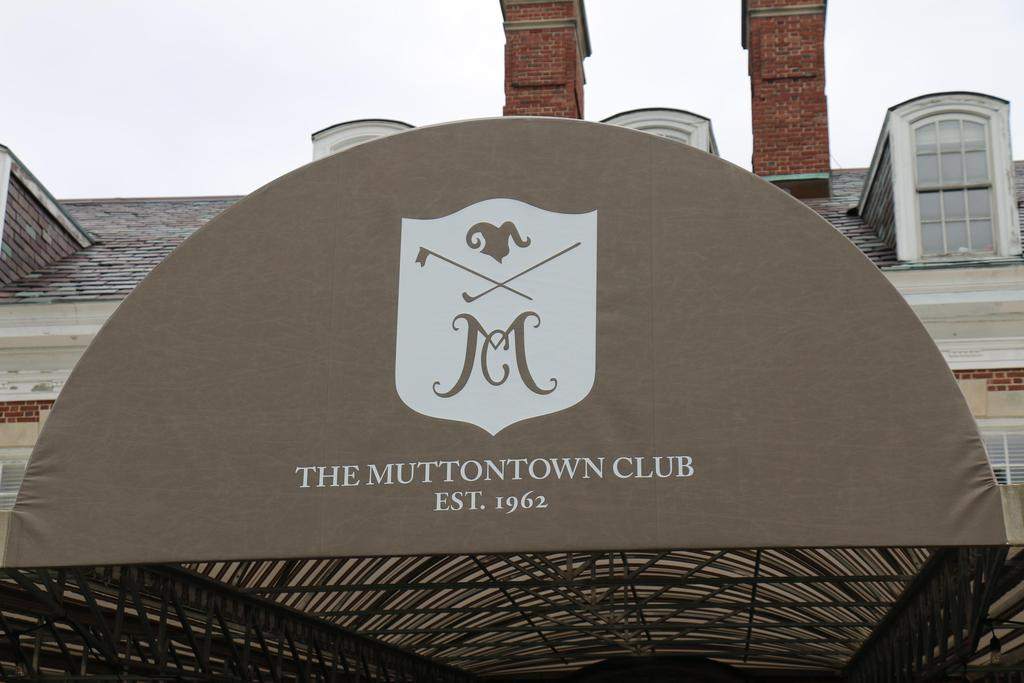 DDI's 2019 Annual Golf Classic Muttontown Club awning