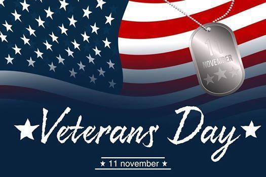 Veterans' Day - November 11th Thumbnail Image