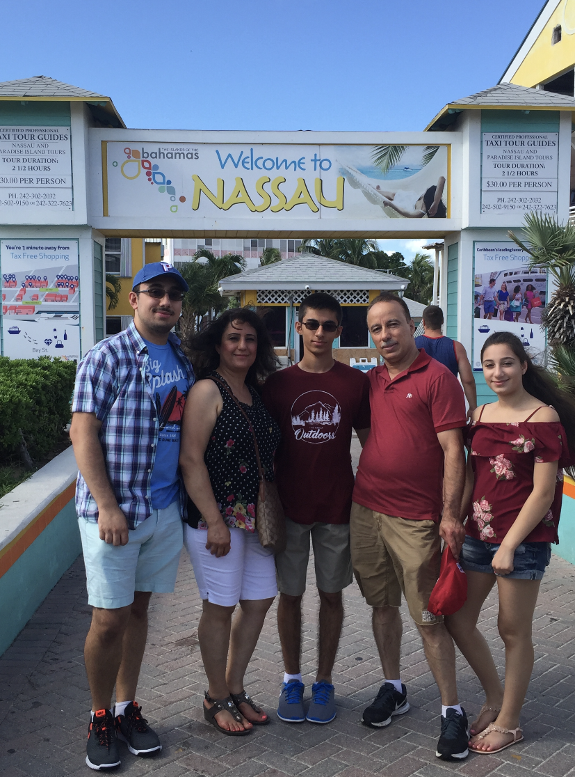 A family trip to the Bahamas