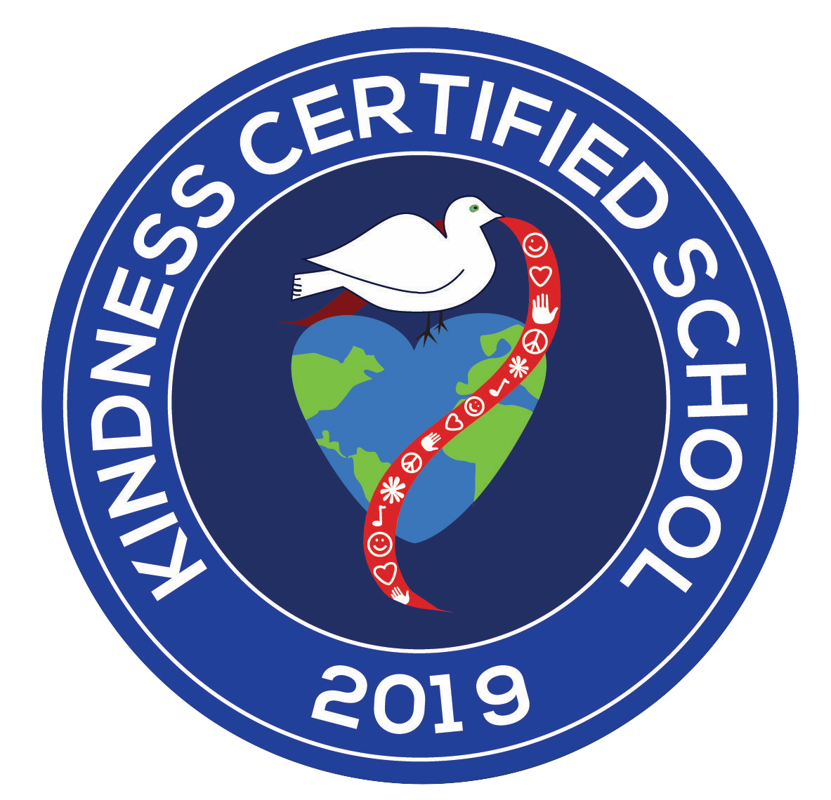 Kindness Certified School 2019 Logo