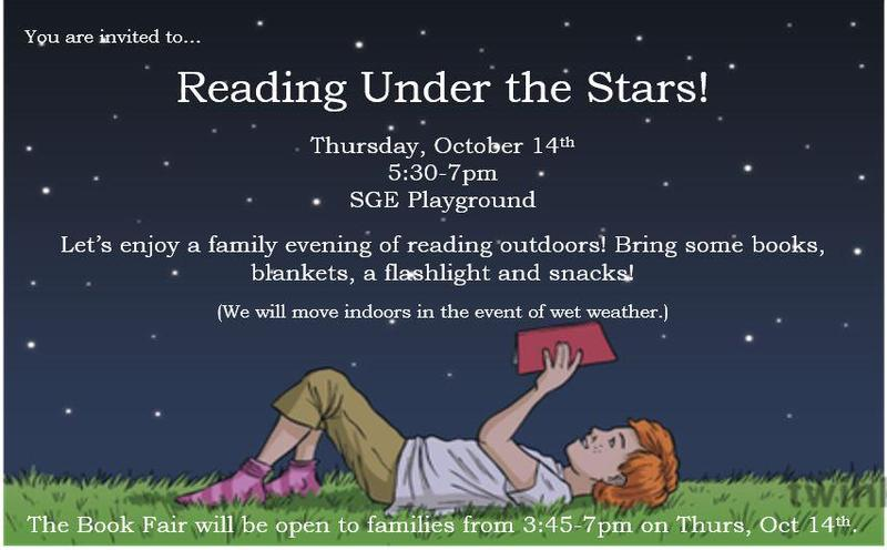 Reading Under the Stars Featured Photo