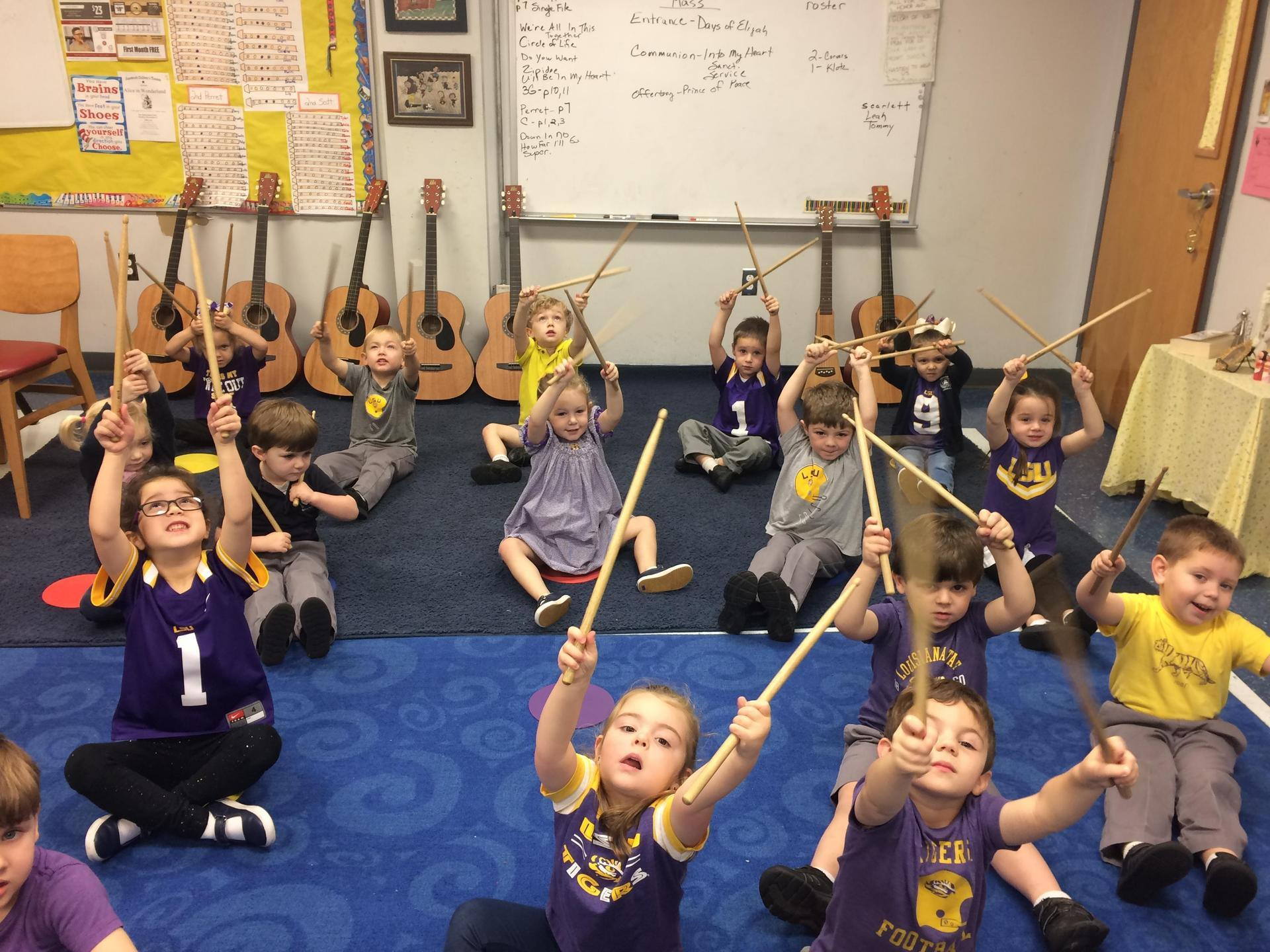 Little Crusaders Music Class