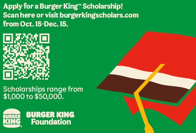 Burger King Scholarship