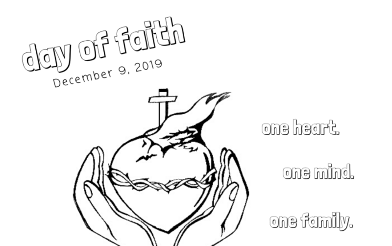 On Campus - Day of Faith on Monday, December 9 Featured Photo