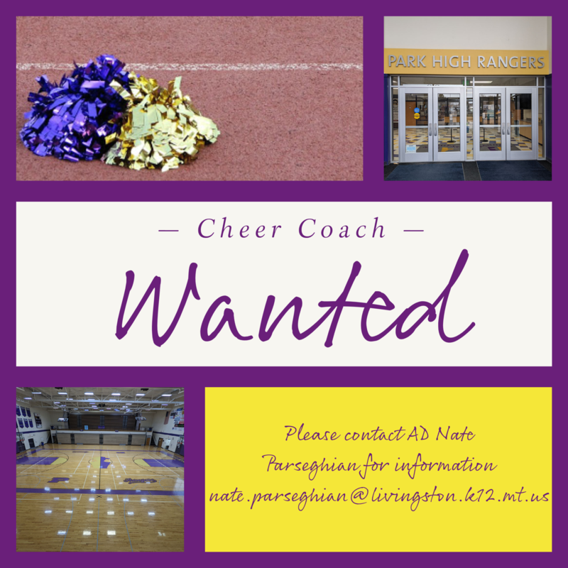 Cheer Coach Wanted Ad