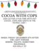 Cocoa with the Cops at 615 Holly Street, J.C., Decemember 6th after Light Parade.