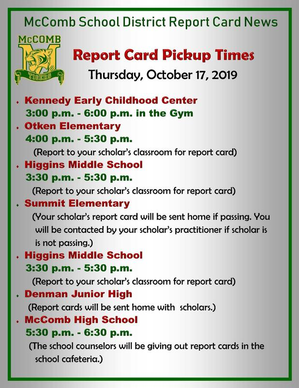Report Card Pickup News Featured Photo