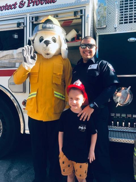 TK, Kinder, and 1st Grade learned about Fire Safety on October 15th Thumbnail Image