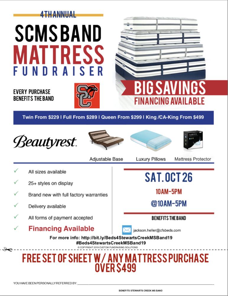 Mattress Fundraiser 2019