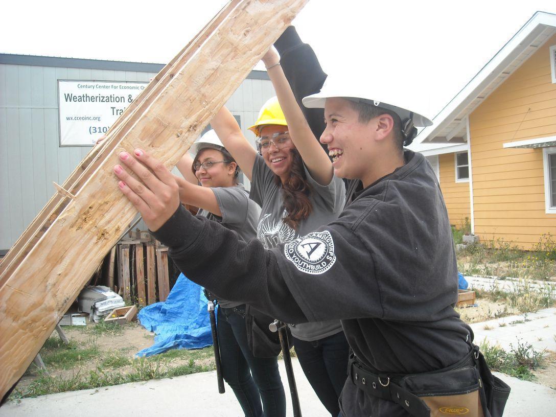Lennox construction students
