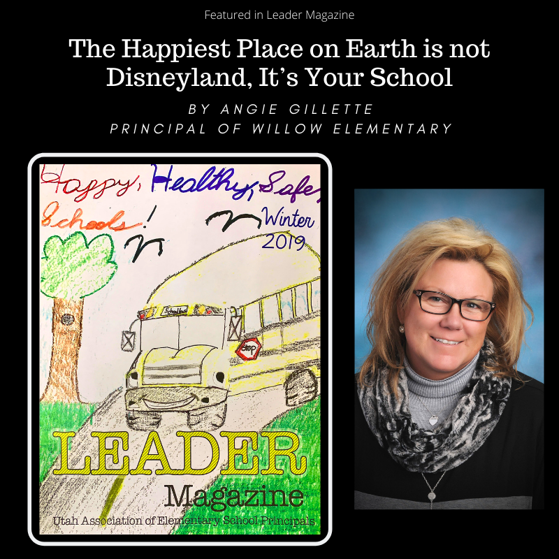 The Happiest Place on Earth is not Disneyland, It's Your School Thumbnail Image