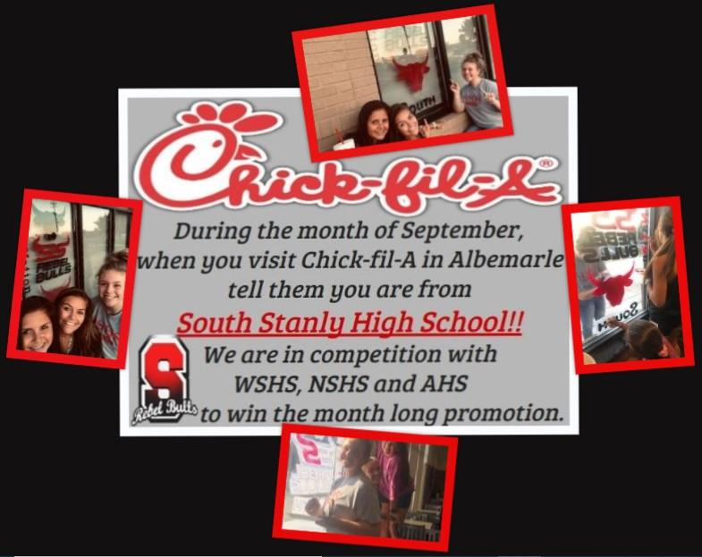 Chic-fil-A Spirit Month