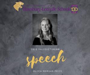 2020 Valedictorian Speech
