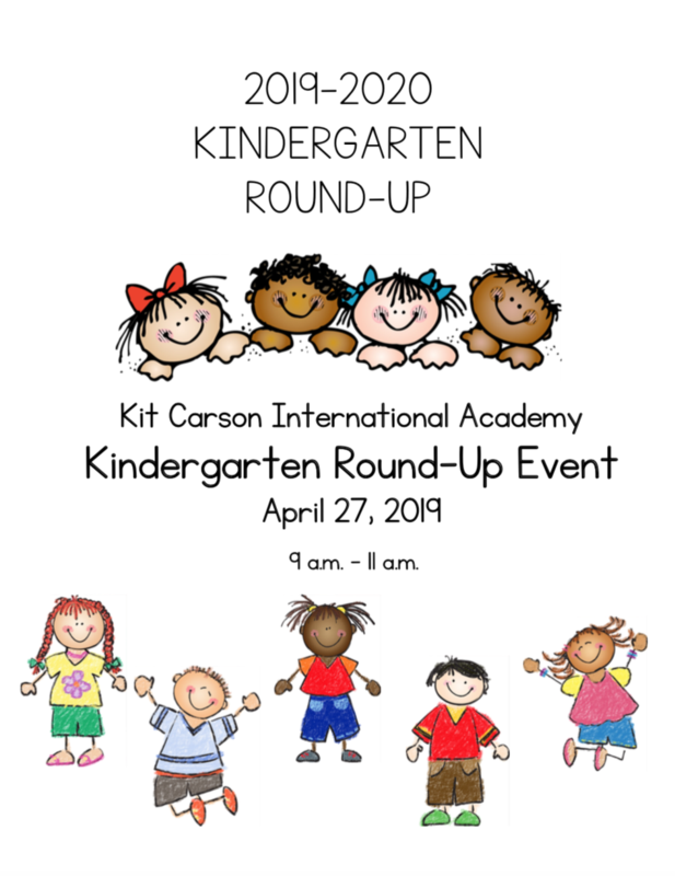 Kindergarten Round-Up Thumbnail Image