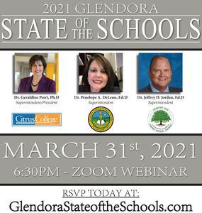 Glendora State of the Schools Flyer