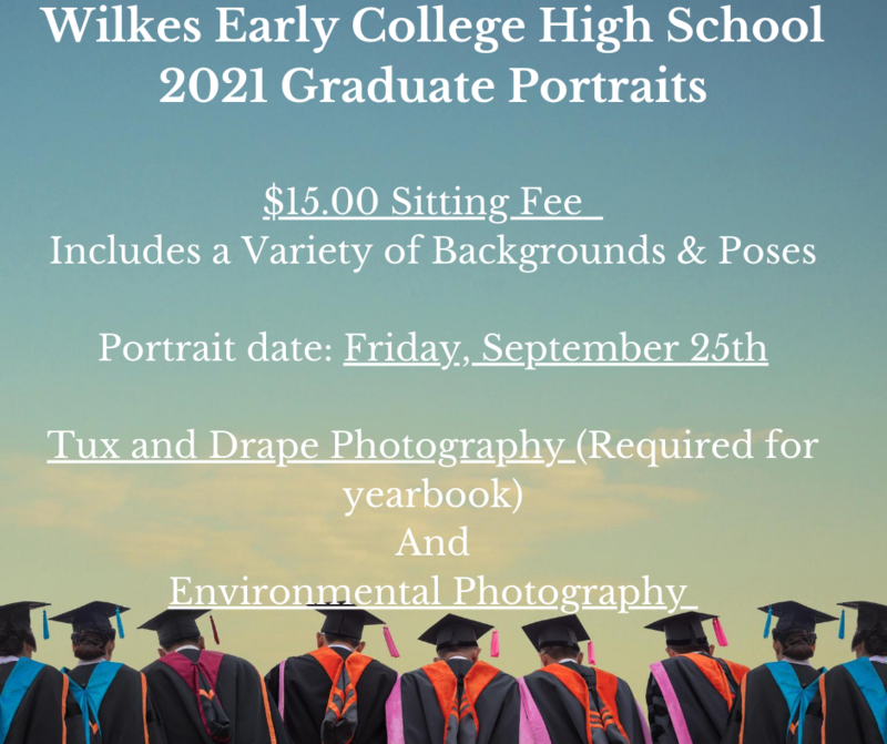 Graduating Student portraits will be Sept. 25th Thumbnail Image