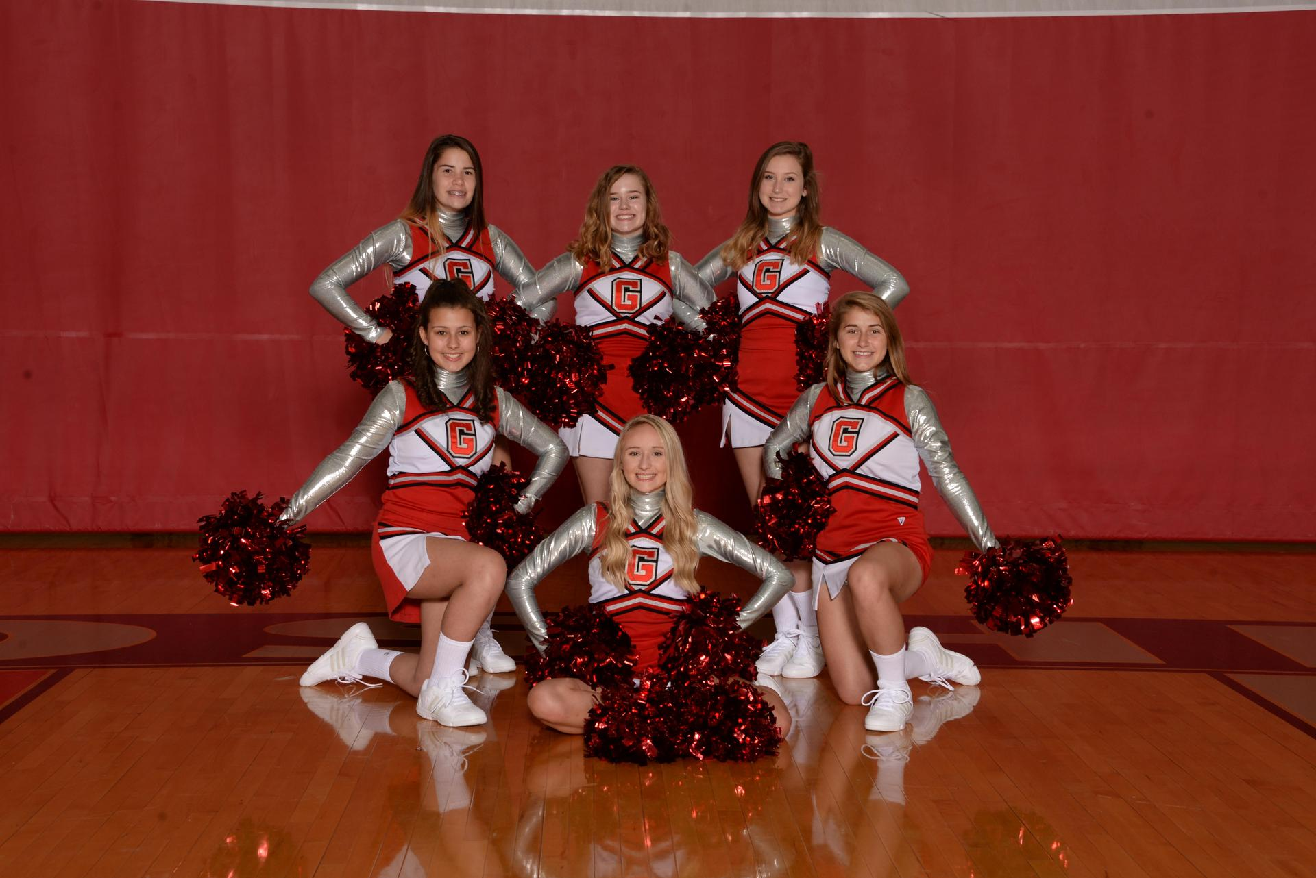 2018 Freshman Cheerleaders