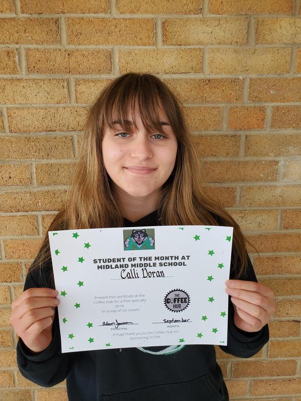 8th Grade - Calli Doran