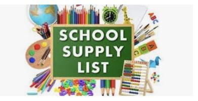 Virtual Academy School Supply Lists Featured Photo