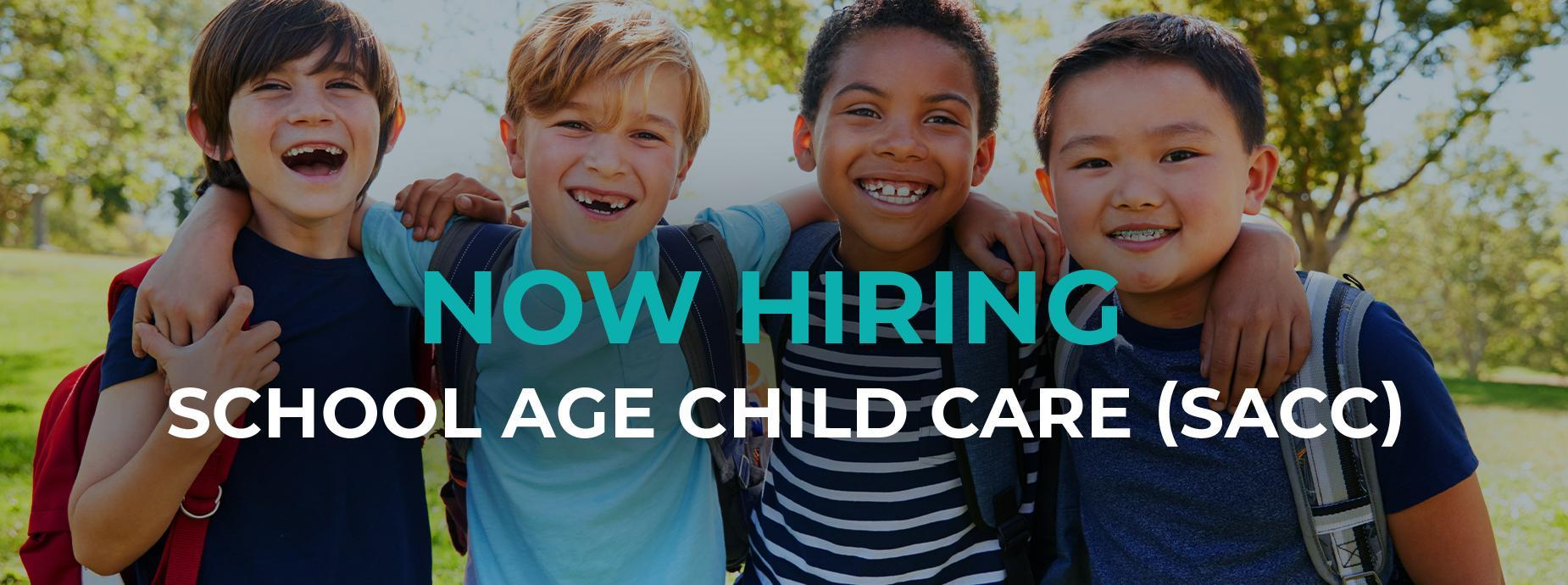 Now Hiring for SACC 2020