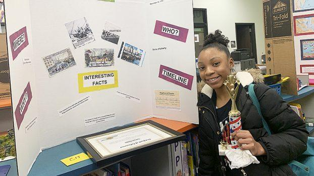 Adams Elementary students highlight Black History, national concerns Featured Photo