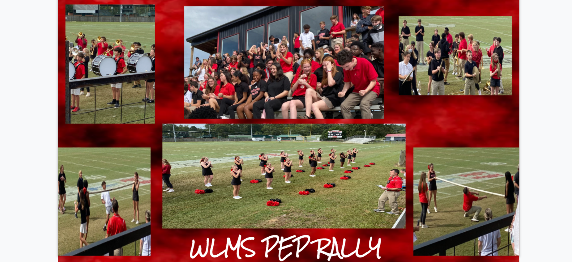 WLMS Pep Rally pictures