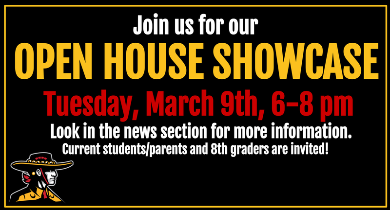 Open House, 3/9, 6-8pm