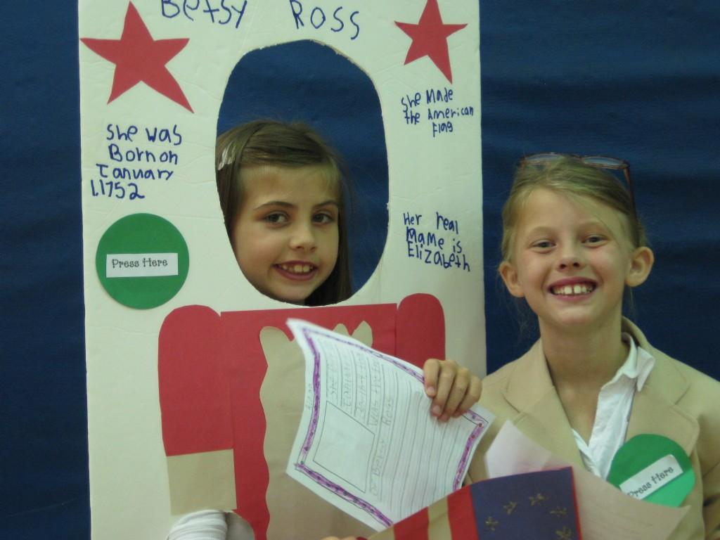 Wax Museum-Betsy Ross