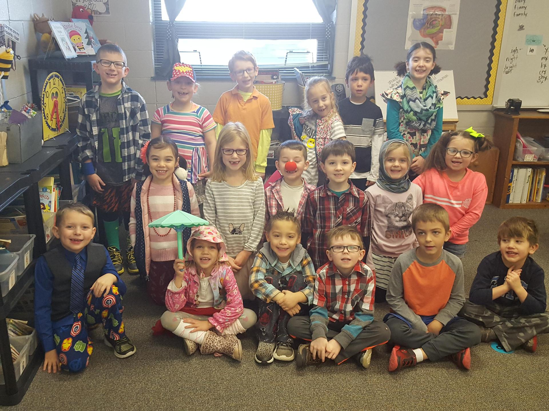 Tacky Penguin Day for 1st Grade