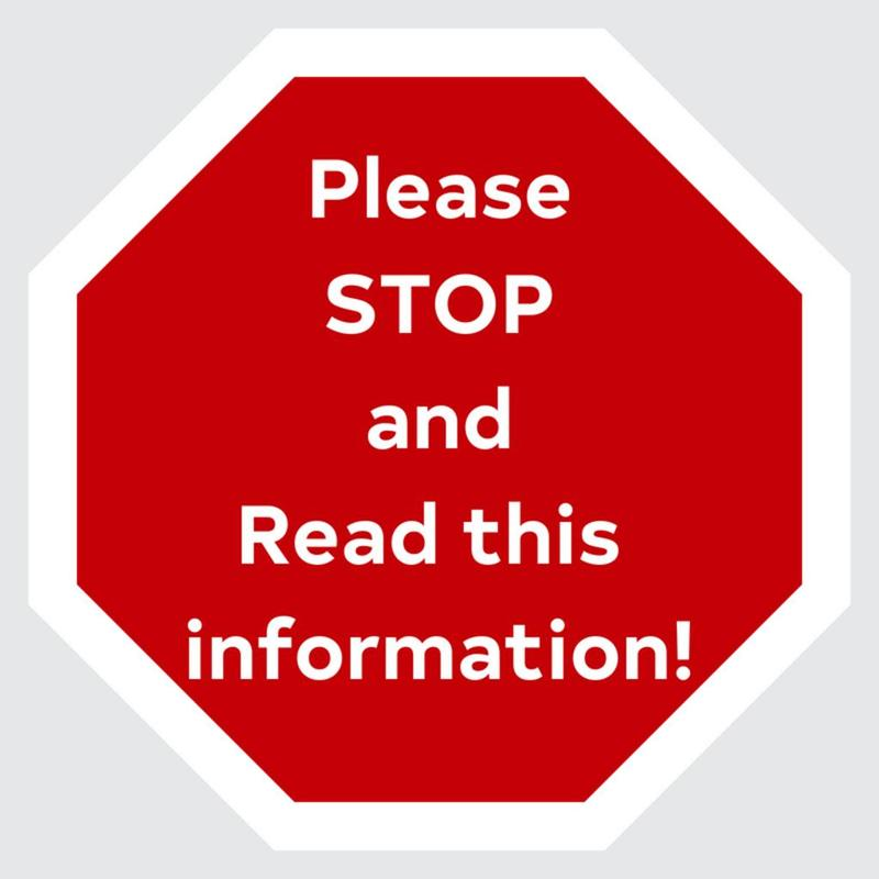 STOP AND READ SIGN