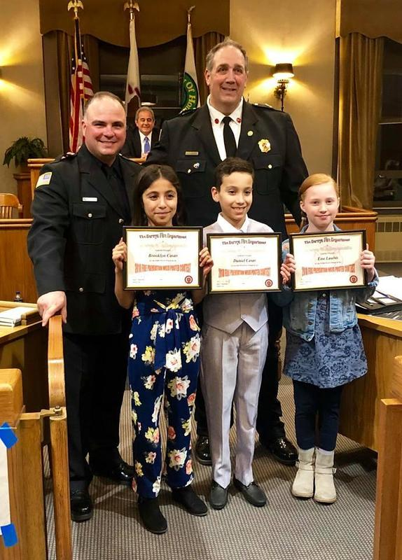 Berwyn North Fire Department Poster Contest Winners Thumbnail Image