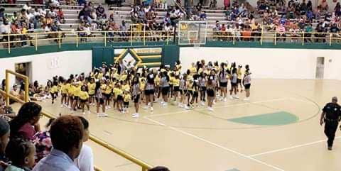 SPHS Cheer Meet the Eagles