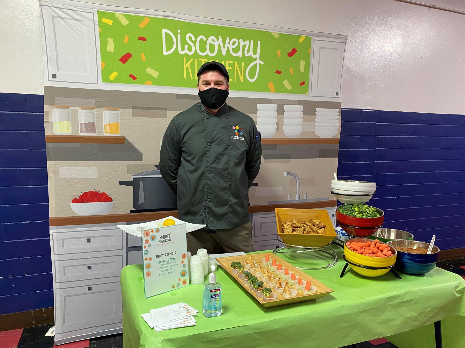 Discovery Kitchen at Aspire - Hummus 3 Ways