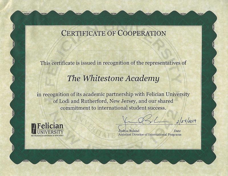 Whitestone Academy and Felician University Featured Photo