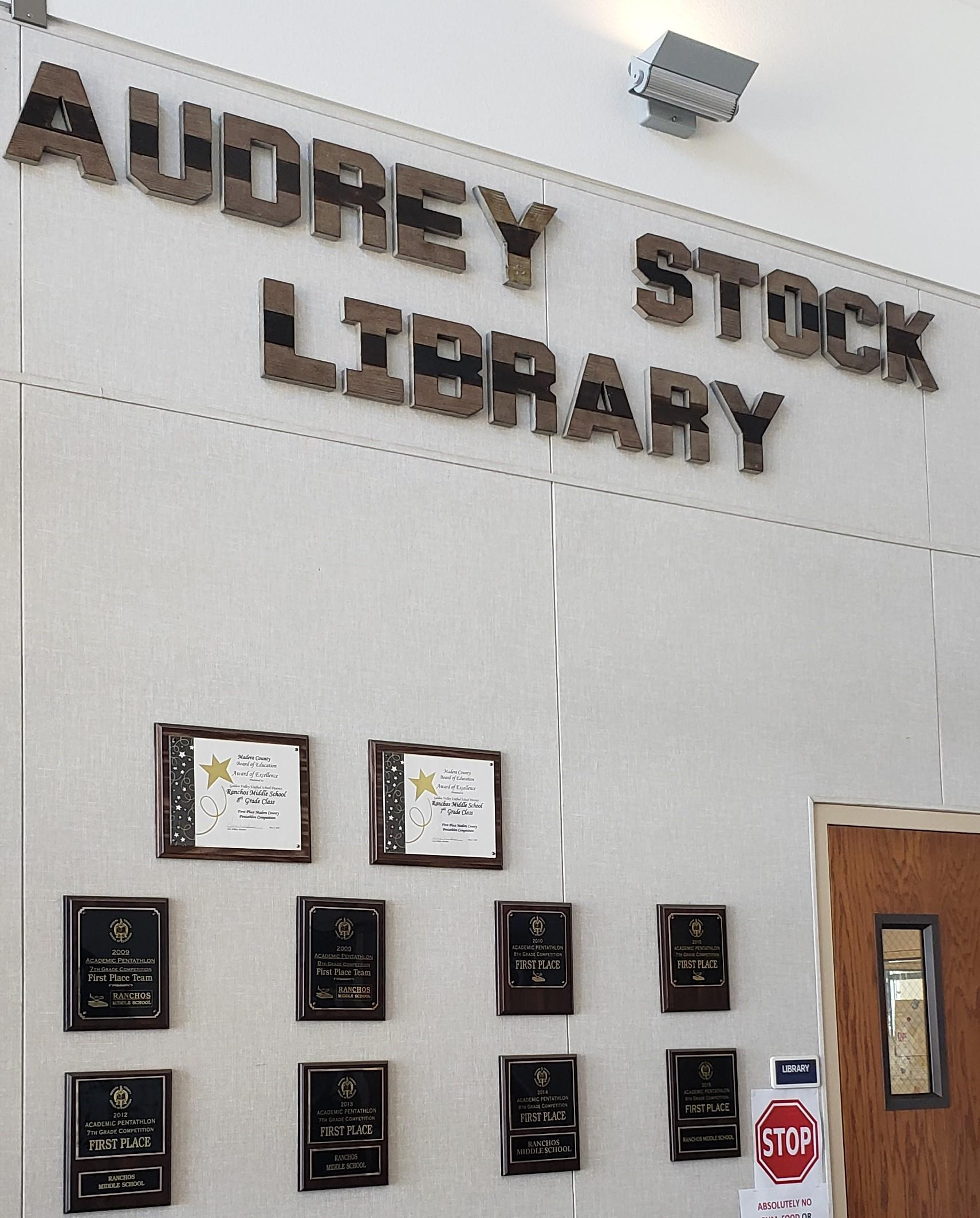 Picture of the Audrey Stock Library
