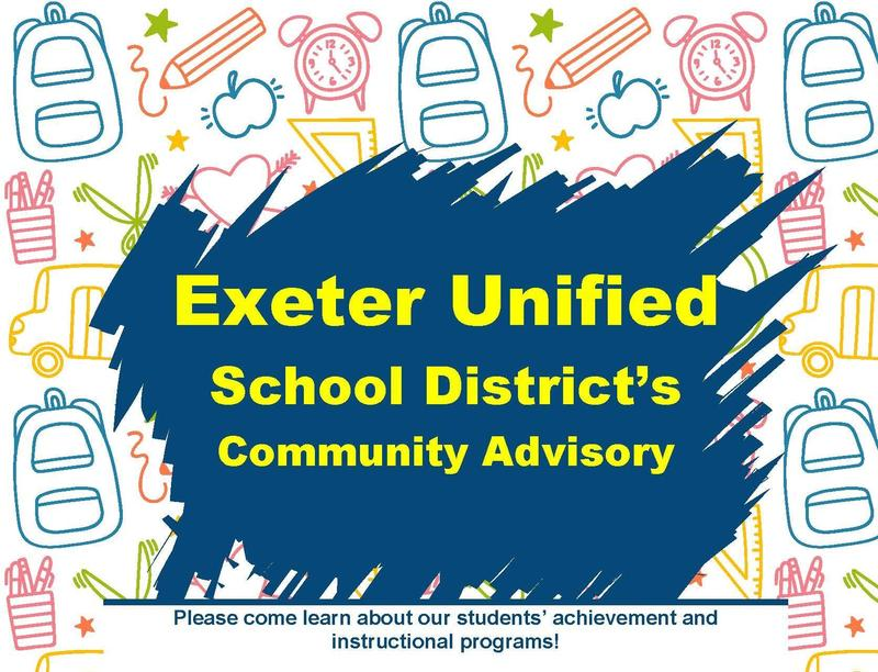 exeter community advisory meeting- upcoming dates