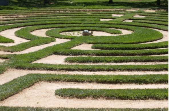 Proposed labyrinth design