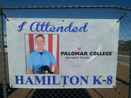 Banner of Student currently attending Mt. Palomar college
