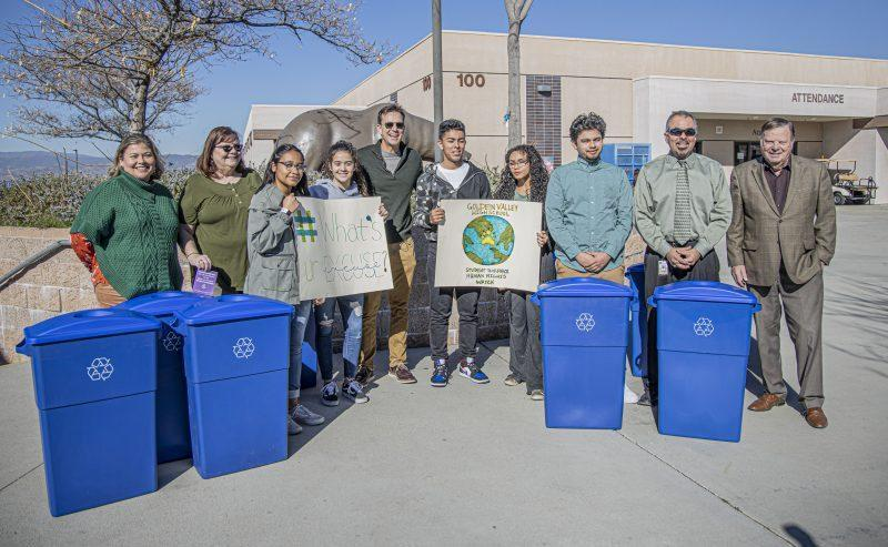 City donates recycle bins to GV Featured Photo