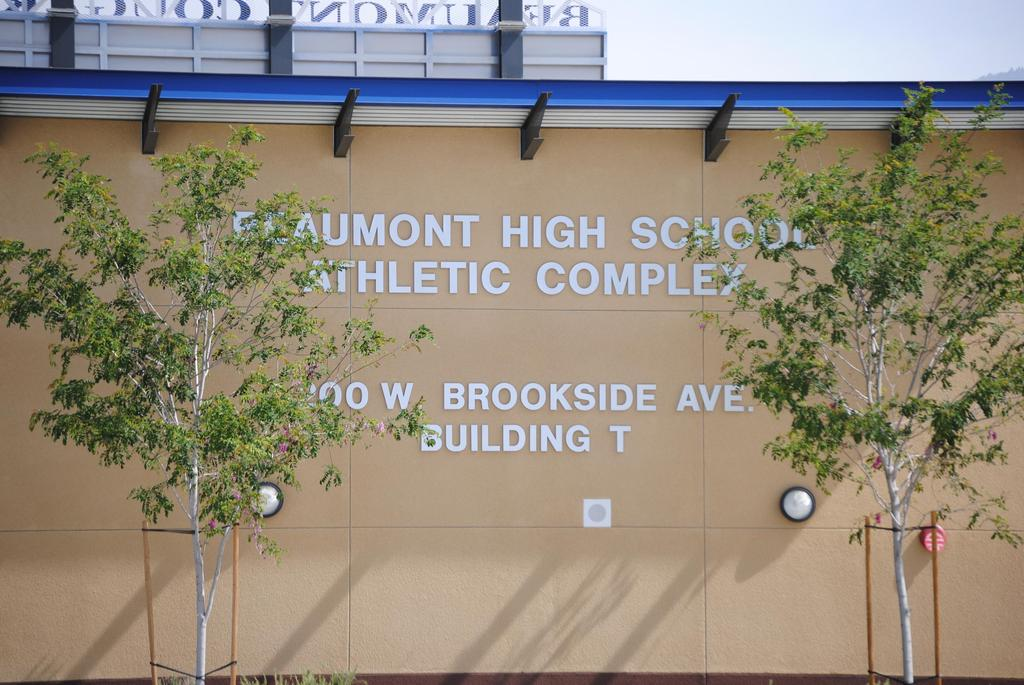 Beaumont Athletic Complex is located at 200 Brookside Avenue, Beaumont, CA 92223